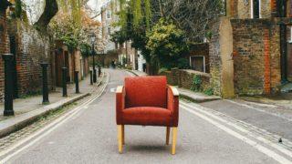 自分で椅子を張り替えてみよう~その2