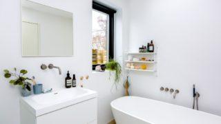 お風呂のすっきり収納